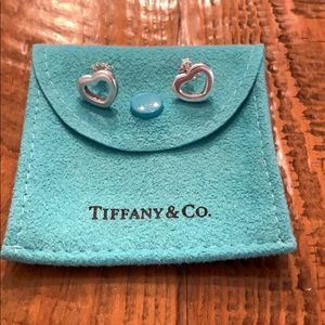 Tiffany and Co. Heart Earrings